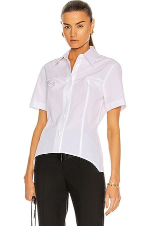 Helmut Lang Women Short sleeves - Short Sleeve Contour Shirt in