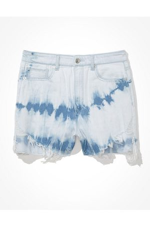 American Eagle Outfitters Women Jeans - Highest Waist Denim Mom Shorts Women's 2