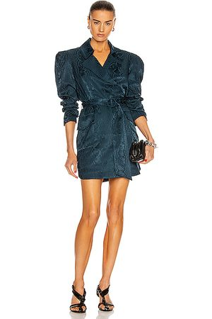Cinq A Sept Pacey Dress in Teal