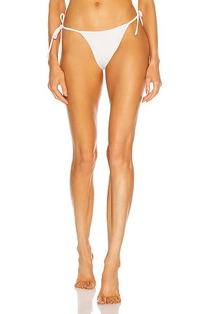 AEXAE Tyra Tie Side Bikini Bottom in