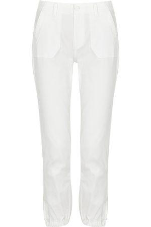 Paige Mayslie stretch-denim cargo trousers