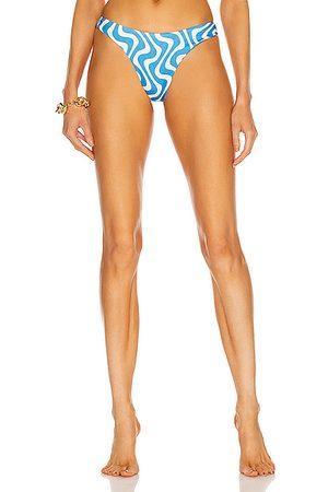 AEXAE For FWRD Magnum Bikini Bottom in Blue
