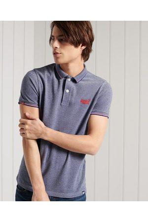 Superdry Men Polo Shirts - Poolside Pique Polo Shirt