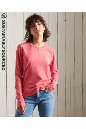 Superdry Women Long sleeves - Organic Cotton Classic Long Sleeved Top