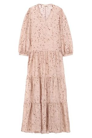 MOMONÍ Women Party Dresses - Amarone dress in printed habotai