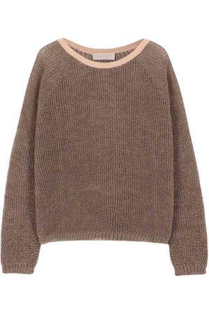 MOMONÍ Women Sweatshirts - Rio sweater in lurex rib stitch