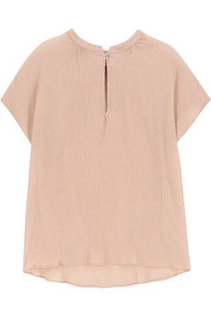 MOMONÍ Women Blouses - Olbia blouse in seersucker voile