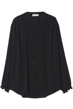 MOMONÍ Women Long sleeves - Firenze shirt in silk blend fabric