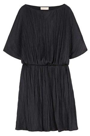 MOMONÍ Women Party Dresses - Montecarlo dress in fluid plissé fabric