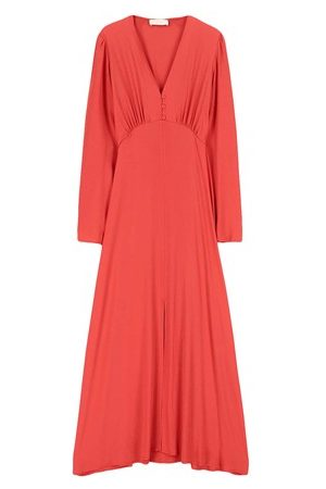 MOMONÍ Women Party Dresses - Costa smeralda dress in silk blend fabric