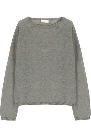 MOMONÍ Women Sweatshirts - Rio sweater in slubbed linen
