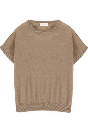 MOMONÍ Women Sweatshirts - Caserta sweater in slubbed linen