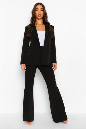 Boohoo Womens Fit & Flare Dress Pants - - 4