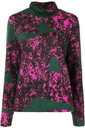 Colville Panelled print sweatshirt