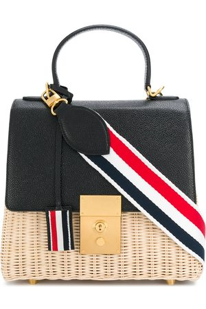 Thom Browne Women Shoulder Bags - Mrs Thom crossbody bag - Neutrals