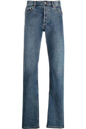 A.P.C. Men Straight - Mid-rise straight-leg jeans