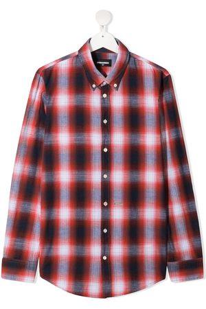 Dsquared2 Boys Shirts - Check-pattern shirt