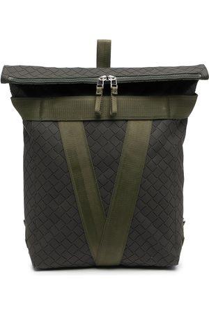 Bottega Veneta Intrecciato zipped backpack