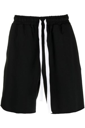 Alchemy Men Shorts - Stretch-cotton drawstring shorts