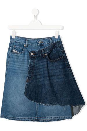 Diesel Girls Denim Skirts - TEEN layered denim skirt