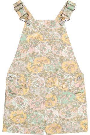 BONPOINT Saga Liberty floral cotton overalls