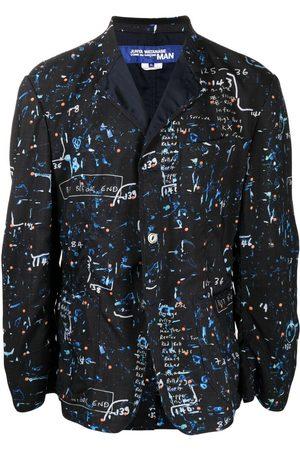 JUNYA WATANABE Graphic-print wool blazer