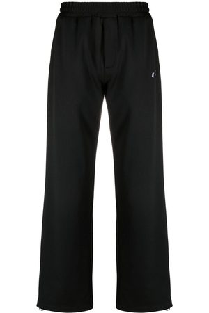 OFF-WHITE Embroidered-logo track pants