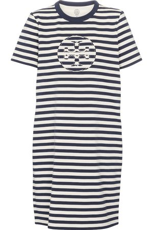 Tory Burch Striped cotton T-shirt dress