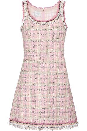 Giambattista Valli Women Mini Dresses - Wool and cotton-blend tweed minidress