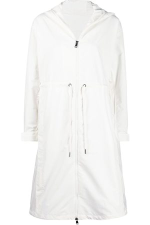Moncler Drawstring-waist hooded raincoat
