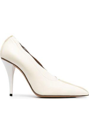 Marni Pointed-toe high-heel pumps - Neutrals