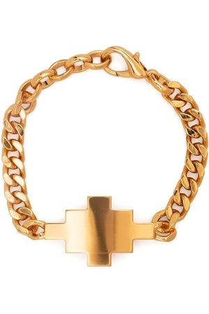 MARCELO BURLON Cross chunky chain link bracelet