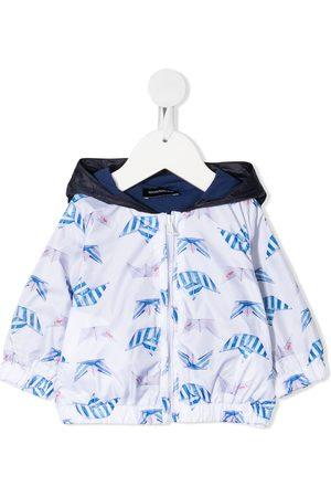 MONNALISA Rainwear - Boat print jacket