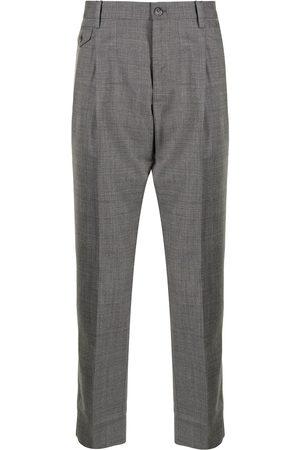 Dolce & Gabbana Wool tailored trousers - Grey