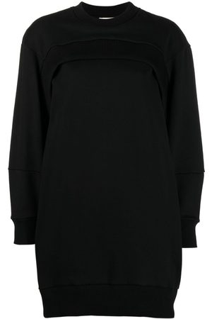 Alexander McQueen Logo-embroidered sweatshirt dress
