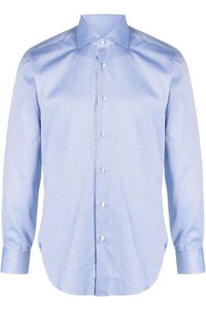 BARBA Long-sleeve cotton shirt