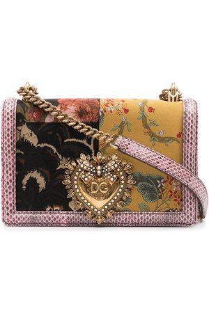 Dolce & Gabbana Devotion patchwork shoulder bag - Multicolour