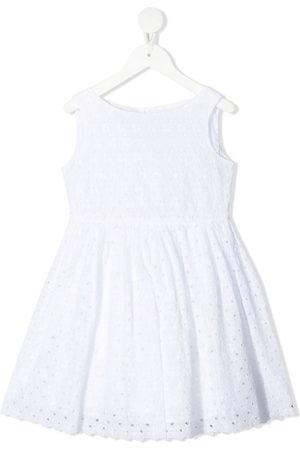 BONPOINT Floral lace cotton dress