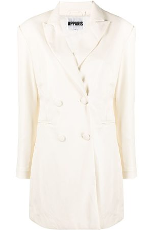 Apparis Women Party Dresses - Ciara double-breasted blazer dress - Neutrals