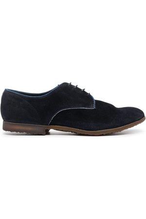 Premiata Men Formal Shoes - Panelled suede derby shoes