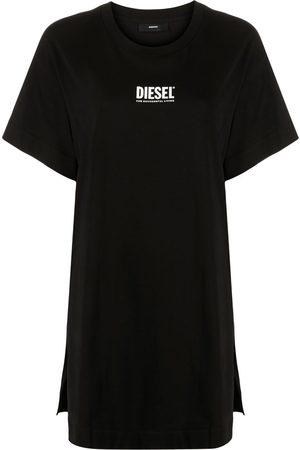 Diesel Women Printed Dresses - Logo-print T-shirt dress