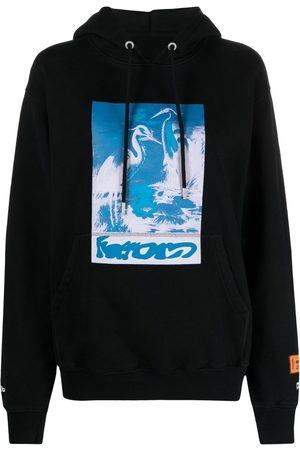 Heron Preston Heron-print hoodie