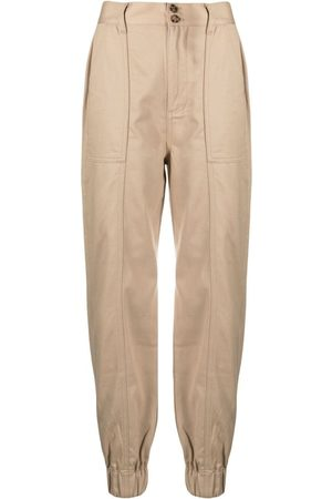 Boyish Jeans Women Pants - Elasticated-tapered trousers - Neutrals