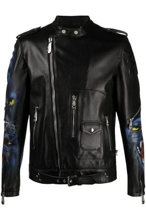 Philipp Plein Iconic leather jacket