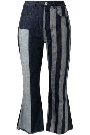 MARQUES'ALMEIDA Patchwork capri-trousers