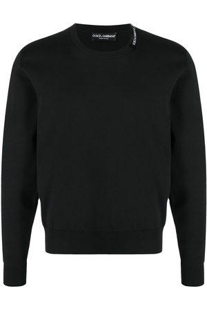 Dolce & Gabbana Logo-print crew-neck jumper
