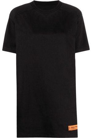 Heron Preston Logo-patch T-shirt dress