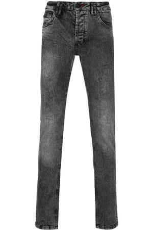 Philipp Plein Istitutional Super straight-cut jeans - Grey
