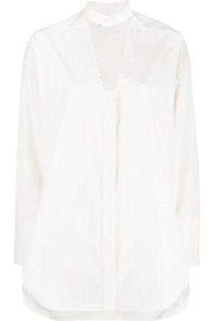AMBUSH Women Shirts - Cut-out buttoned shirt