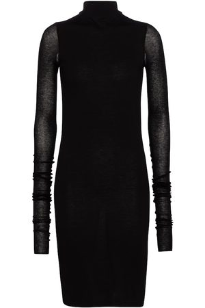 Rick Owens Women Casual Dresses - Lilies jersey mini dress